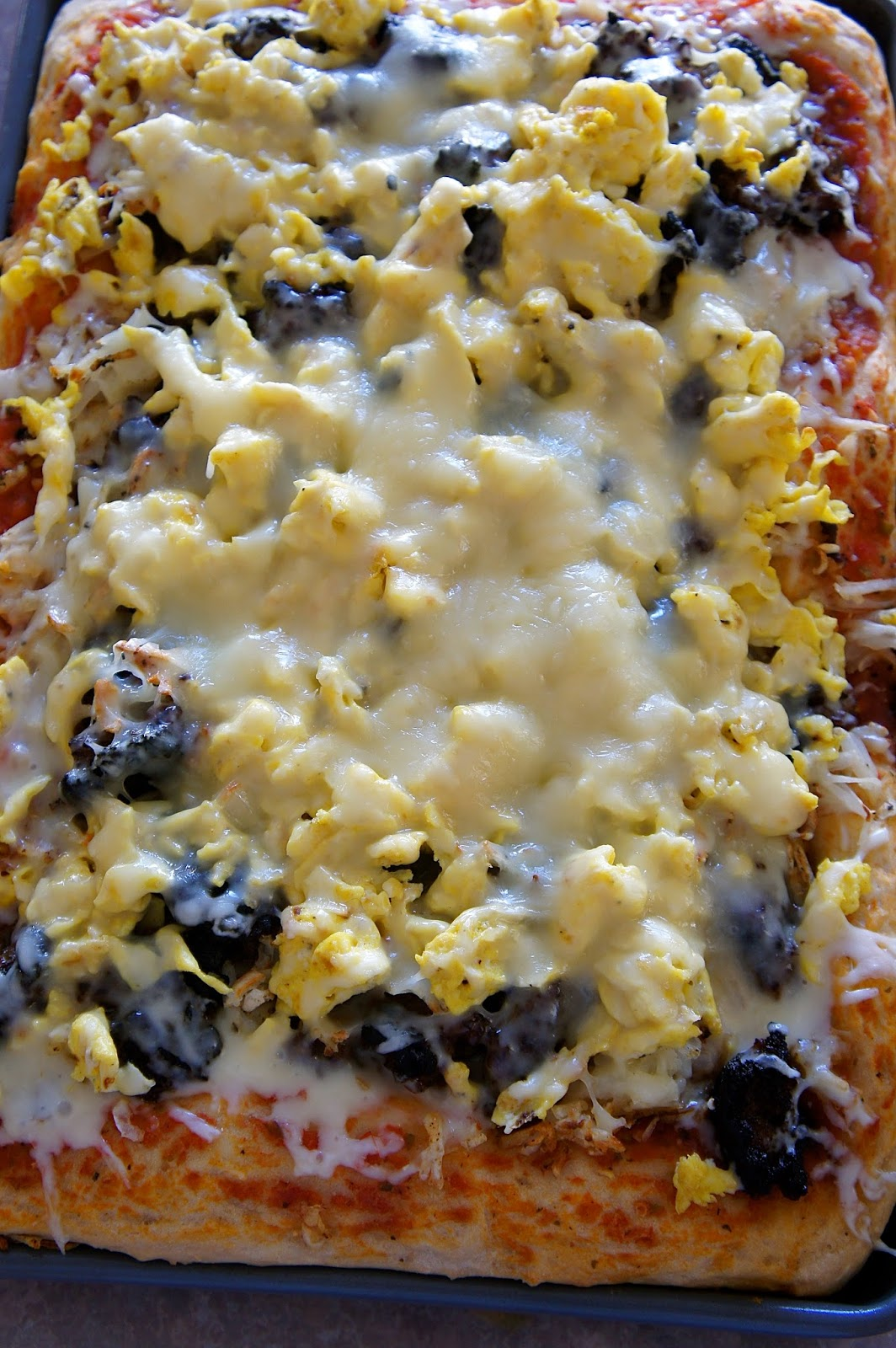 Breakfast Pizza: Savory Sweet and Satisfying