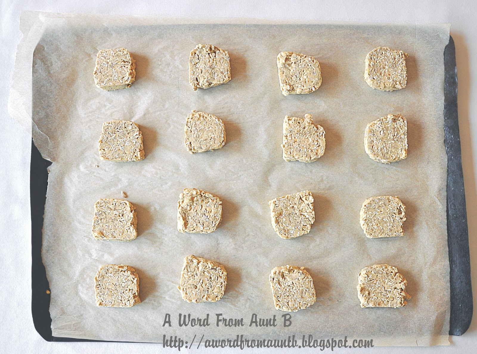 A Word From Aunt B: Sunflower Seed Cookies