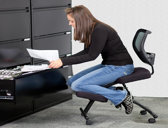 best buy ergonomic kneeling posture office chair with back for sale