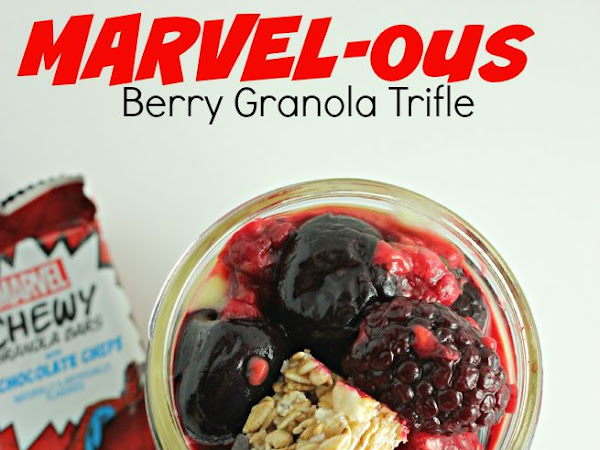 MARVELous Berry Granola Trifle