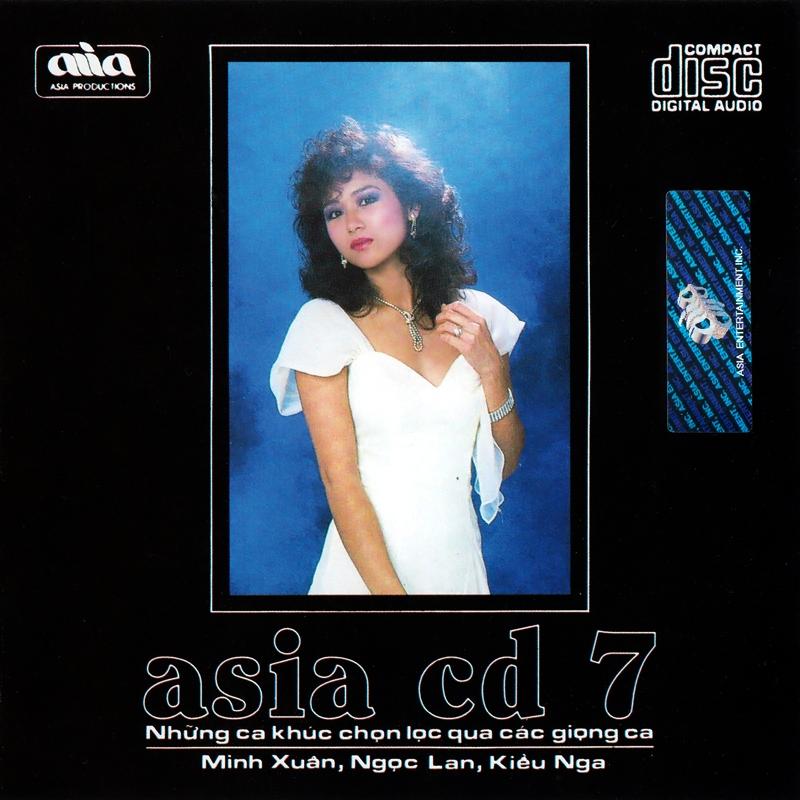 AsiaCD007 - Luyến Tiếc (NRG)