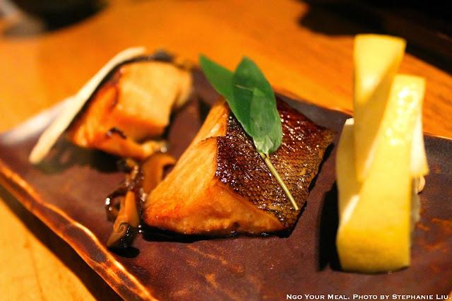 Gindara Yuan Yaki: Grilled Fillets of Cod Fish Steeped in Sweet Soy Sauce at Sakagura