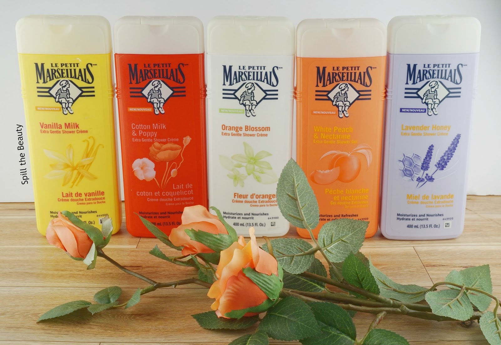 Le Petit Marseillais Extra Gentle Shower Products – Information