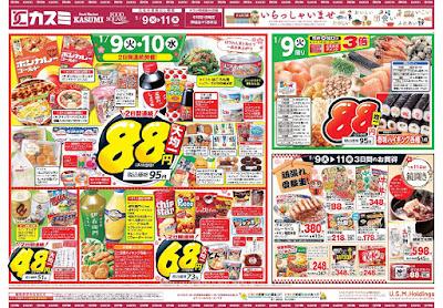 【PR】フードスクエア/越谷ツインシティ店のチラシ1月9日号
