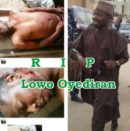 lowo oyediran corpse