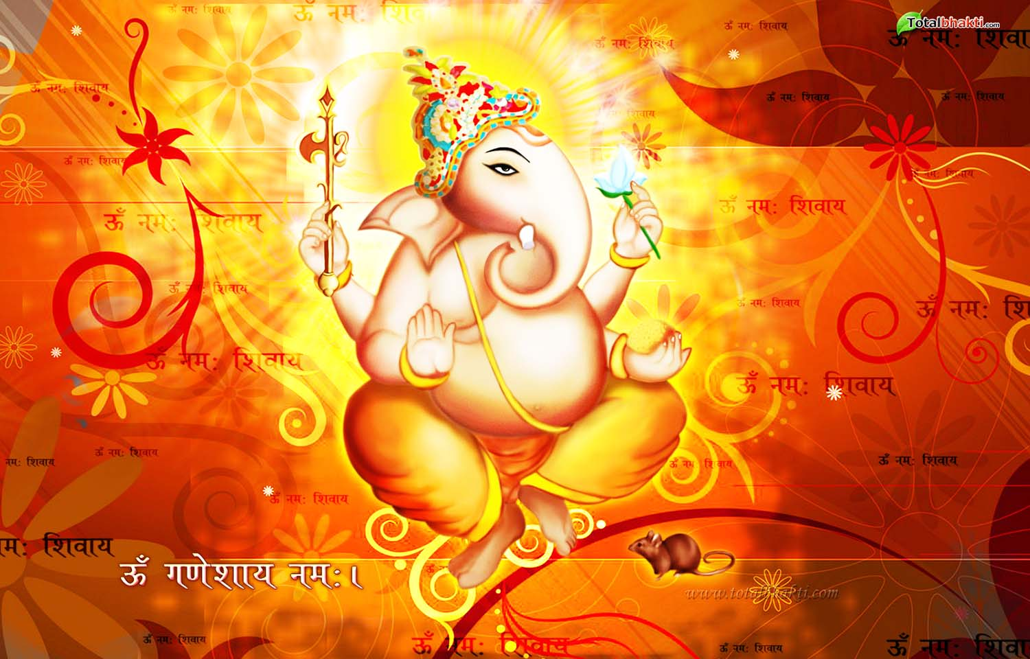 Beautiful Ganesh Bhagwan Wallpaper