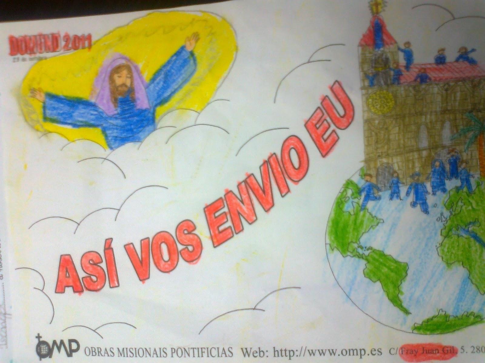Dibujos De Las Misiones: La Catequesis (El Blog De Sandra): Dibujos Domund 2011