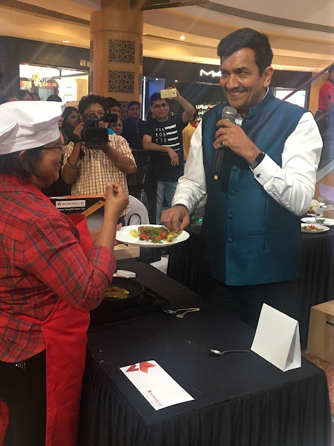 Inorbit Mall Malad celebrates its 13th Anniversary with Celebrity Chef Sanjeev Kapoor