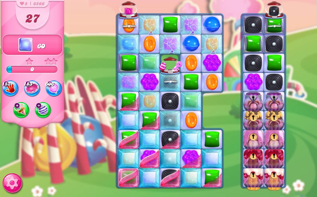 Candy Crush Saga level 6566