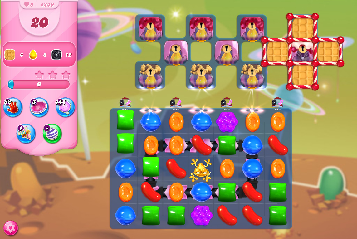 Candy Crush Saga level 4249