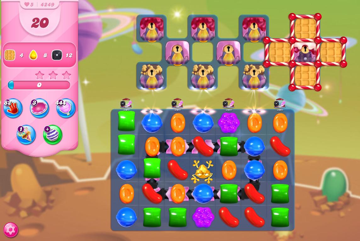 Candy Crush Saga level 4249