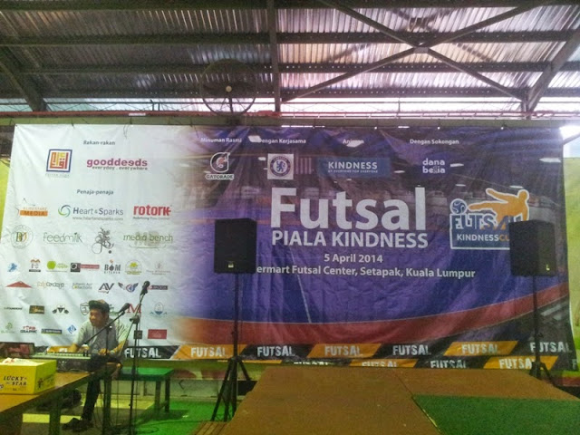 FUTSAL KINDNESS CUP 2014 - BY EVERYONE FOR EVERYONE