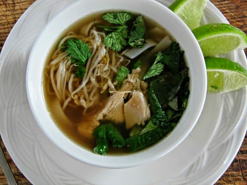 Pine Cones and Acorns: Vietnamese Chicken Pho Noodle Soup