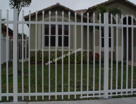 Decorative Metal Fence Panels