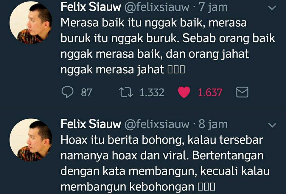 Felix Siauw: Hoax itu berita bohong