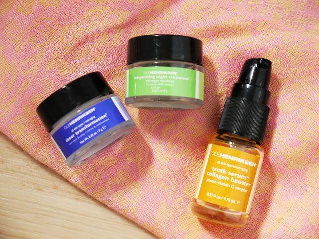 ole henriksen sheer transformation collagen vitamin c night treatment skintone brightening improve skin thebeautytype.com