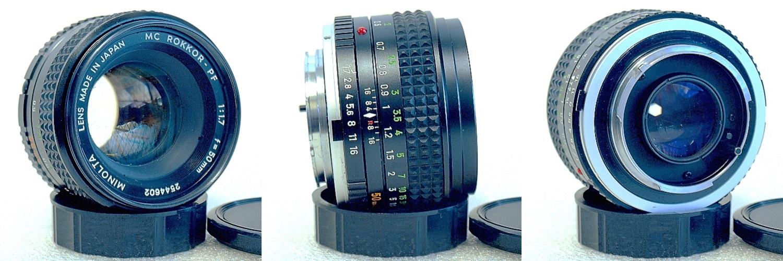 Minolta MC Rokkor-PF 50mm 1:1.7 #602