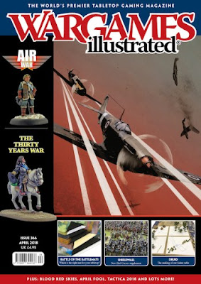 Wargames Illustrated 366, April 2018