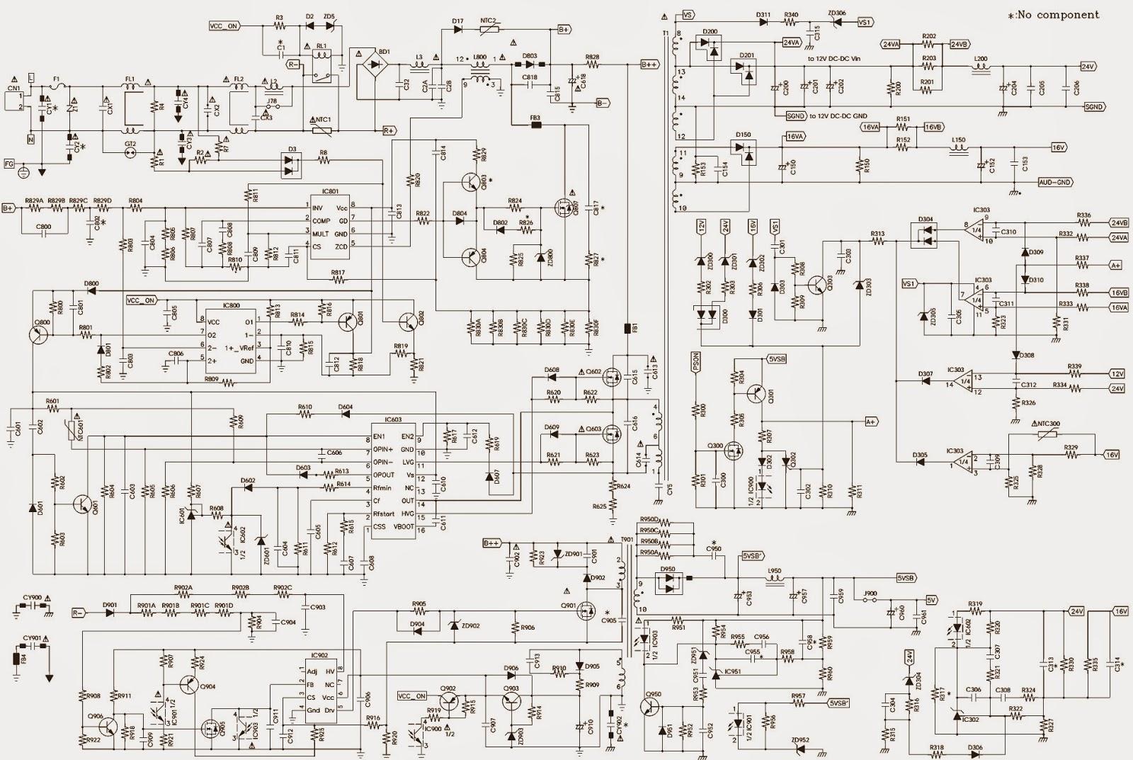 Master Electronics Repair    Philips 37pfl5422  96