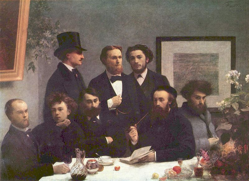 Henri Fantin-Latour - Verlaine and Rimbaud