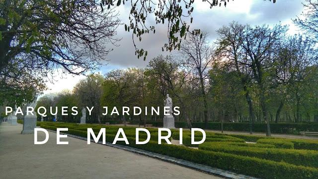 Parques de Madrid para sobrevivir al verano