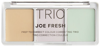 Correct, contour and blush with a trio from Joe Fresh!