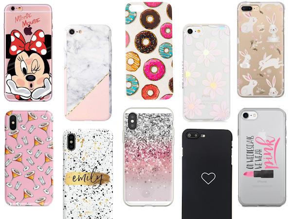 Phone Case Wishlist | Pink, Glittery & Printed