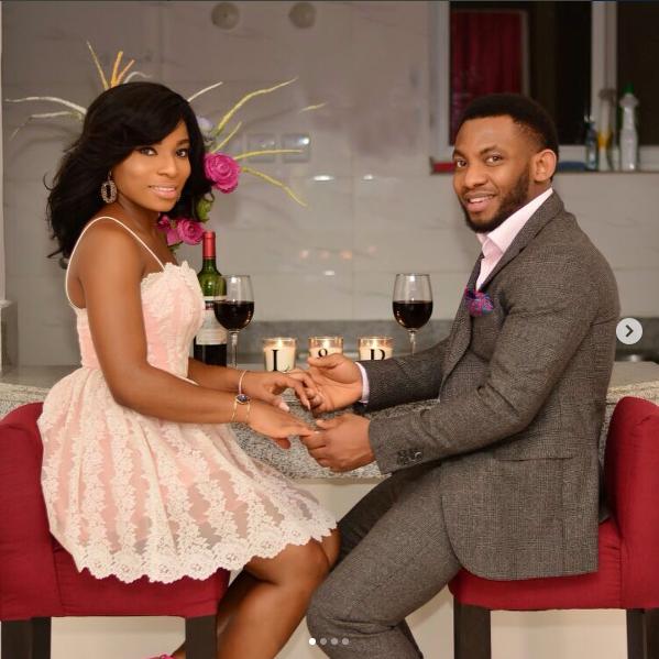 6df54adeddce Veteran Nollywood Actress Liz Benson's Daughter Lilian and her Man, Promise  are Getting Married Soonest!