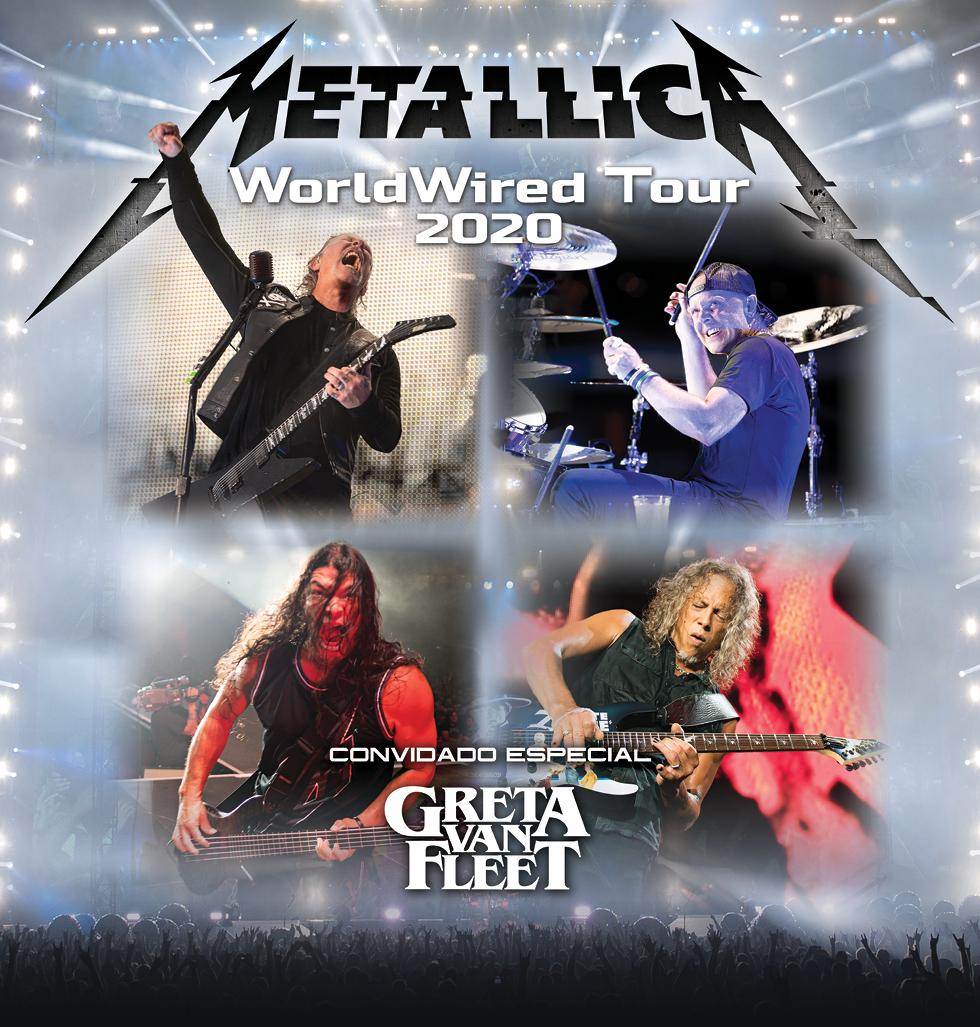 Greta Van Fleet Tour Dates 2020.Hennemusic Metallica Announce South American Tour With