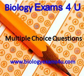 Biology Multiple Choice