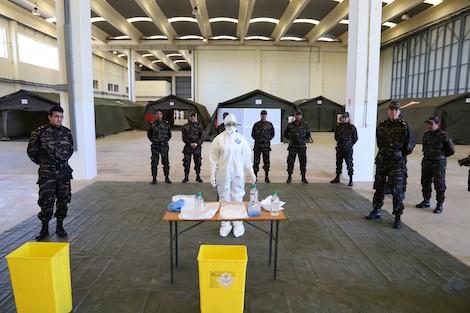 Morocco-establishes-civilian-and-military-field-hospitals-to-counter-Corona
