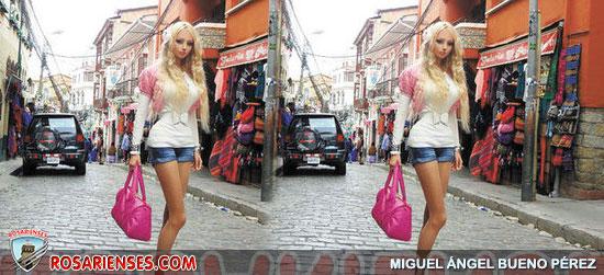 La 'Barbie humana' paseó por La Paz y elSalar de Uyuni   Rosarienses, Villa del Rosario