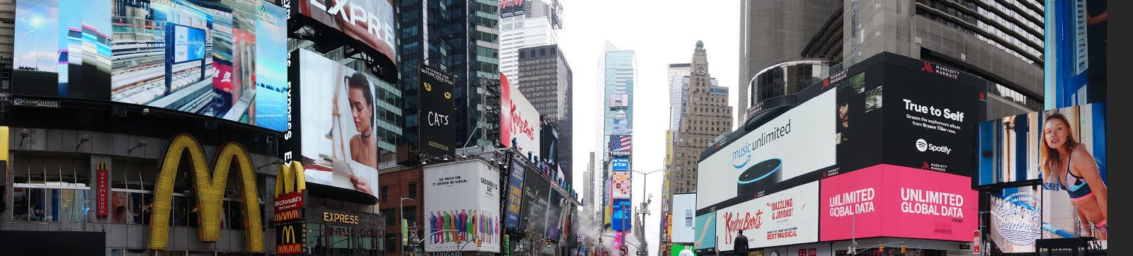 Visiting New York City for the first time - Times Square