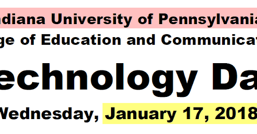 Technology Day @ IUP