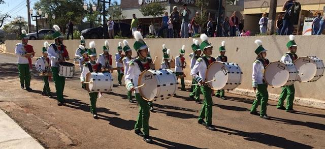 Iretama: Fanfarra Municipal emociona população durante Desfile Cívico