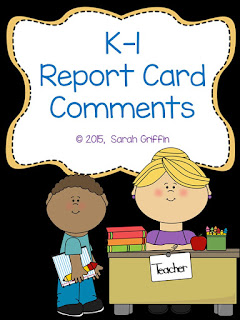 https://www.teacherspayteachers.com/Product/K-1-Report-Card-Comments-1547866