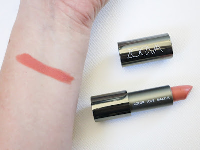 Zoeva Cosmetics Luxe Cream Lipstick Swatch in Faith & Love