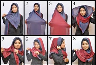 Tips Cara Praktis Memakai Hijab Modern Nan Trendy