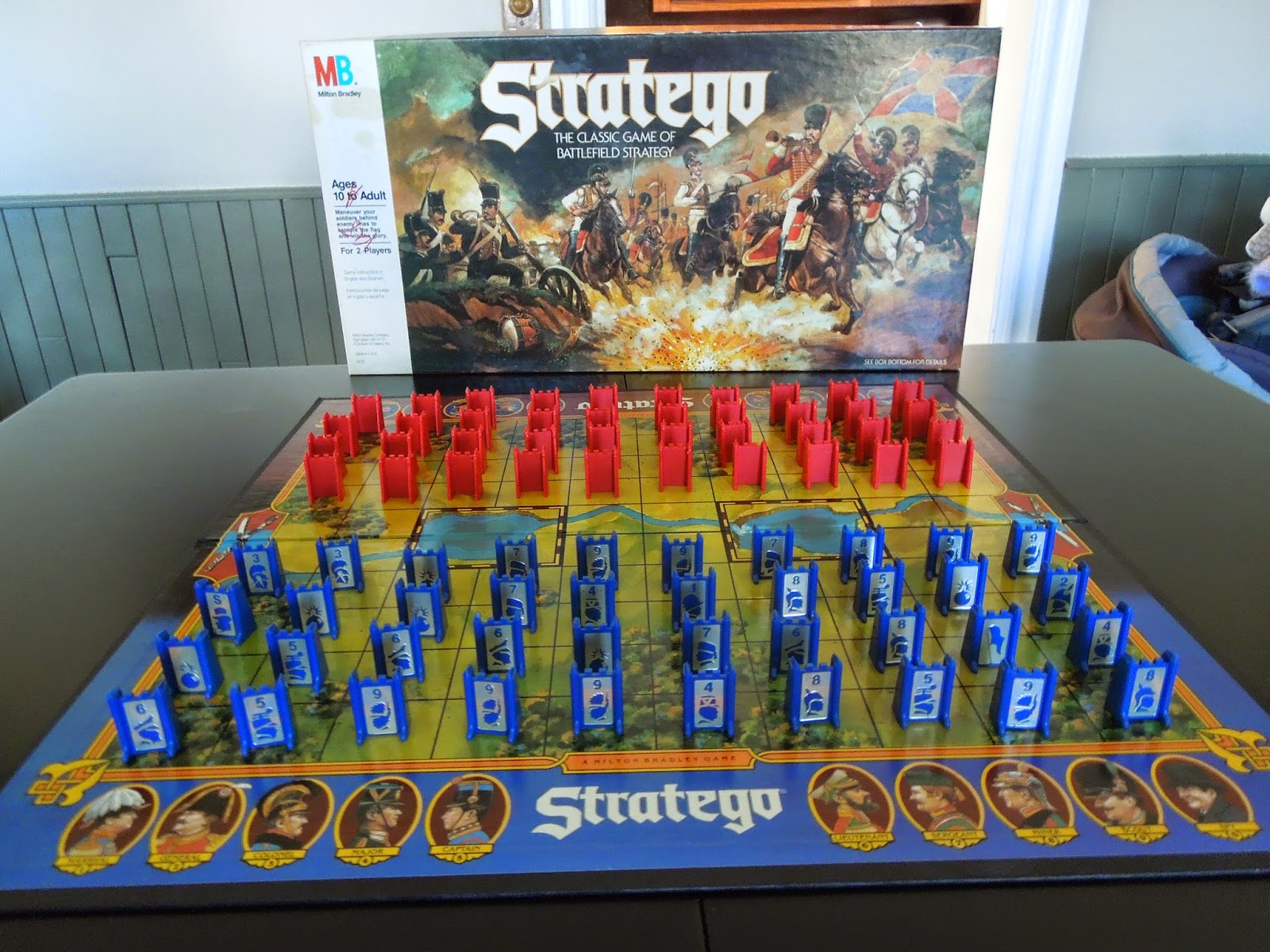 stratego a board game a day