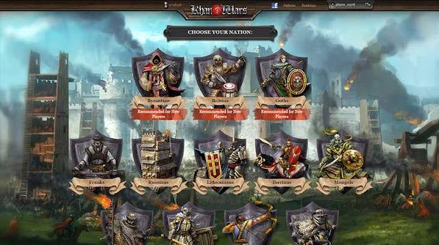تحميل لعبة حرب العصور Khan Wars MMO كامله