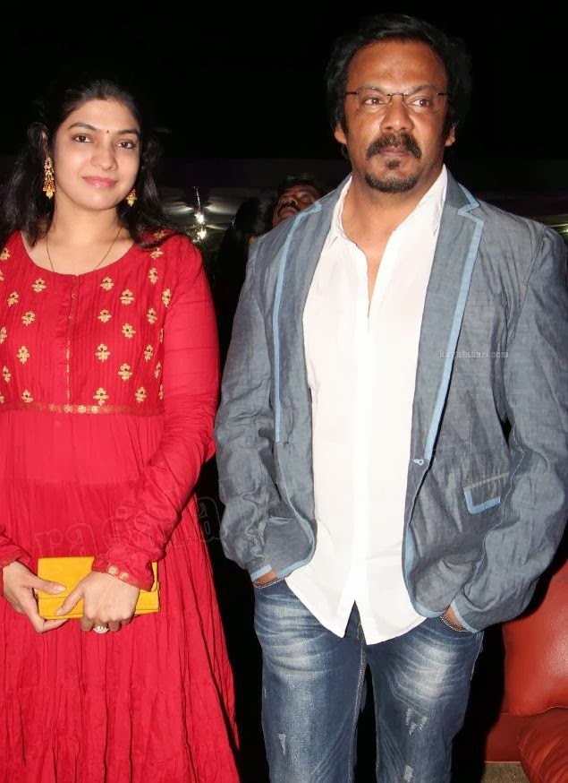 Art Director Anand Sai Wife Actress Vasuki Anand