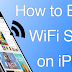 How to Boost iPhone WiFi Signal Strength
