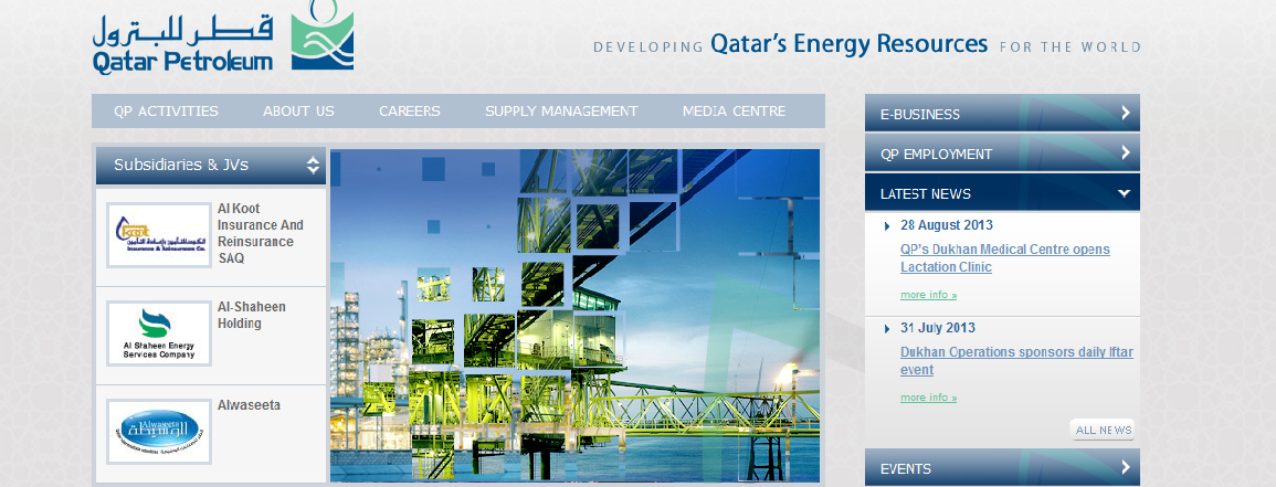 Job Vacancies at Qatar Petroleum Govt Jobs - induced info