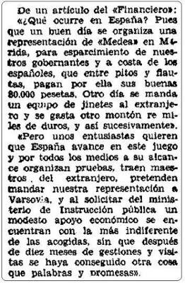 Torneo de las Naciones de Varsovia, El Siglo Futuro, 27 de agosto de 1935
