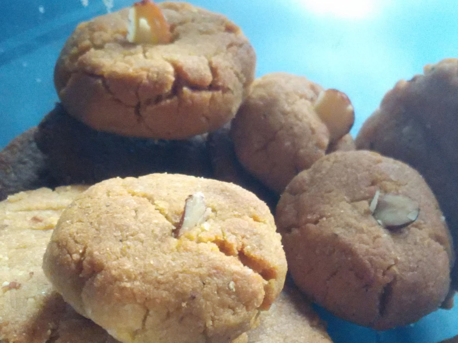 Atta Nankhatais Easy To Dish Out Delicious In Every Bite Whole Wheat Flour Cookies Anyone If You Are A Cookie Lover As Well As A Health Freak