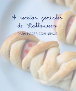 recetas niños halloween