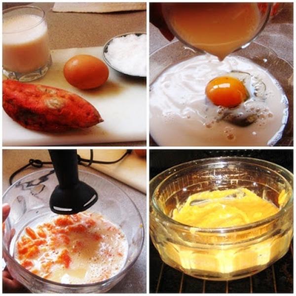 Crema de boniato y cítricos