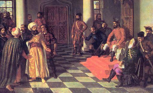 vlad receiving ottoman emissary