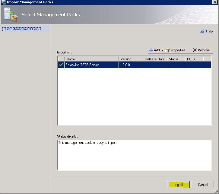 SCOM: Monitor a custom Services on Windows server 2003