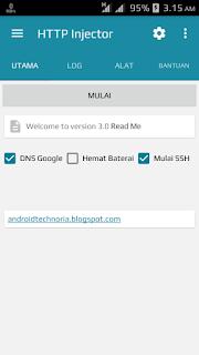 Cara Menggunakan HTTP Injector di Android